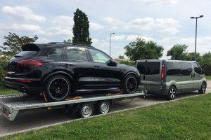 transport auto porche Germania Oradea